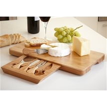 Bamboo Cheese Board