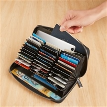 36 Credit Card RFID Wallet