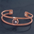 Copper Magnetic Dress Bracelet_J1298_1
